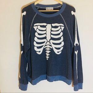 Wildfox Vintage Skeleton Sweatshirt